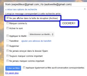 archiver mails de gmail