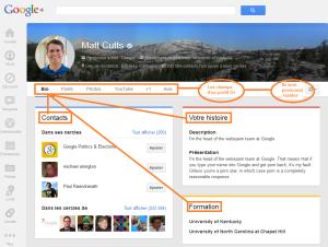 optimiser les informations sur google +