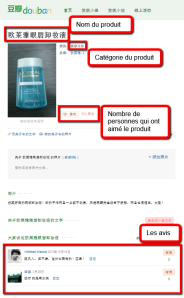 Douban / opinion sur l'Oréal