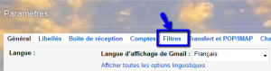filtres gmail