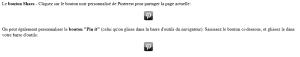 boutons Pinterest personnalisés