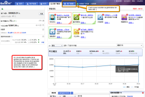 Baidu SEM interface Baidu Paid Search