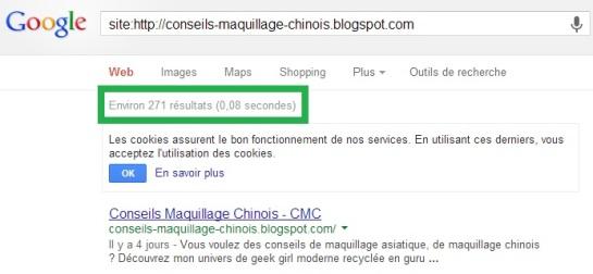 Site indexé par Google en 4 jours