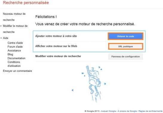 Création de moteur de recherche personnalisé | AUTOVEILLE