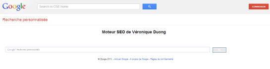 Moteur de recherche SEO créé par Véronique Duong - AUTOVEILLE