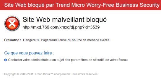 Page web et logiciel malveillant | Image AUTOVEILLE