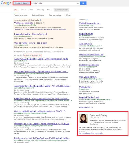 Google Authorship : lier les articles au profil Google+