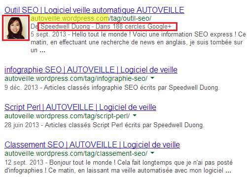 AUTOVEILLE : Authorank pour Blog WordPress