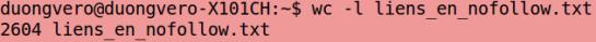 Calcul des liens nofollow