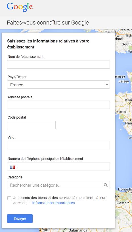 Google+ Local - étape 4