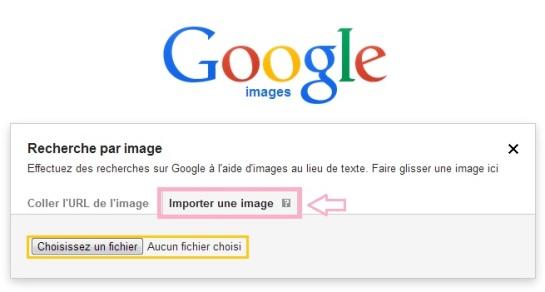 Importer une image - Google Images - AUTOVEILLE
