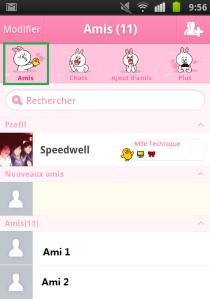 LINE page AMIS - AUTOVEILLE