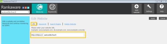 Site AUTOVEILLE - Rankaware
