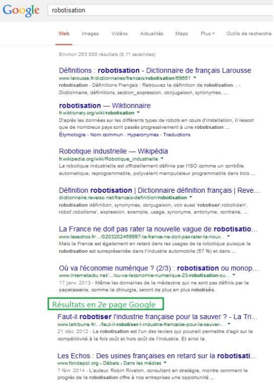 """SEO et e-réputation """"Robotisation"""" - AUTOVEILLE"""