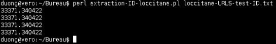 IDs extraits par script Perl automatique - AUTOVEILLE
