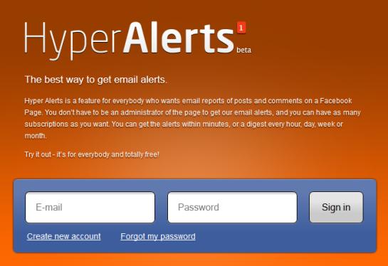 Outil de veille - Hyper Alerts - AUTOVEILLE
