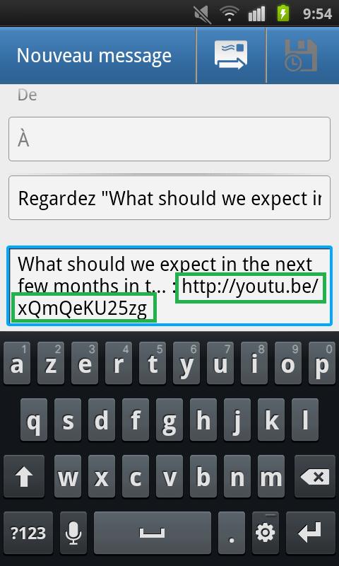 Récupération du lien YouTube pour convertir en MP3 - AUTOVEILLE