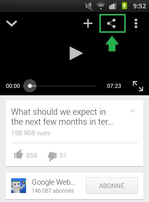 Partage vidéos de YouTube à convertir en MP3 - AUTOVEILLE