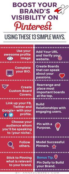 Booster la visibilité de sa marque sur Pinterest - AUTOVEILLE