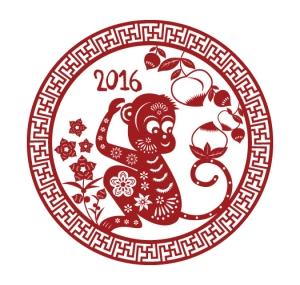 Bonne année du Singe 2016 - AUTOVEILLE