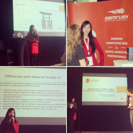 Véronique Duong au SEO Campus 2016 pour parler de Baidu et de référencement chinois - AUTOVEILLE