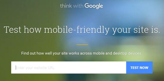 Outil de compatibilité mobile - Test my site - Google - AUTOVEILLE