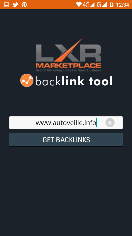 Outil SEO : vérification de liens externes avec SEO backlink TOOL - AUTOVEILLE