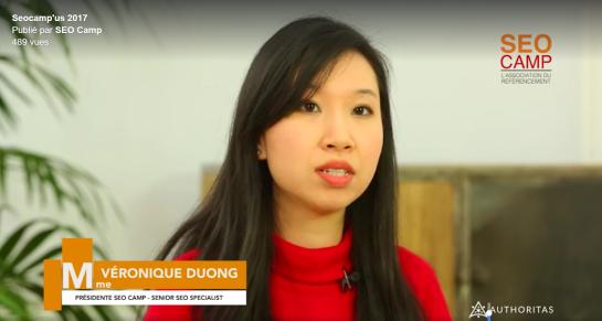 mme veronique duong presidente seo camp experte consultante seo