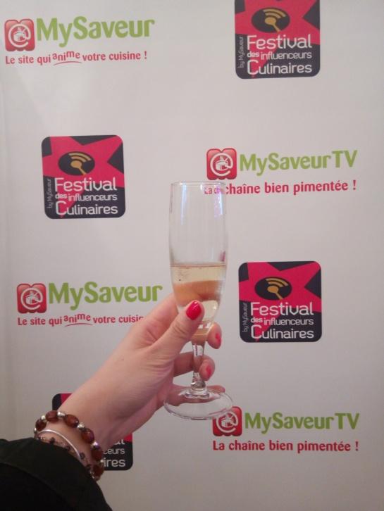 cocktail champagne - festival des influenceurs culinaires