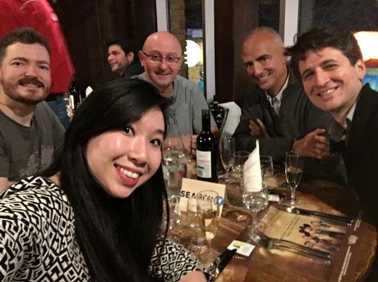 Diner Google, Bing, Baidu, Olivier Andrieu, Véronique Duong, Vincent Courson, Frédéric Dubut, Fabrice Canel
