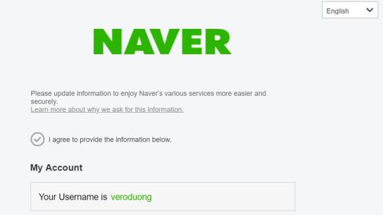 compte Naver Véronique Duong