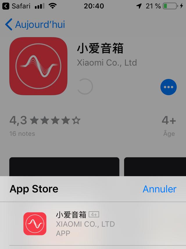 app mobile enceinte vocale xiaomi Véronique Duong