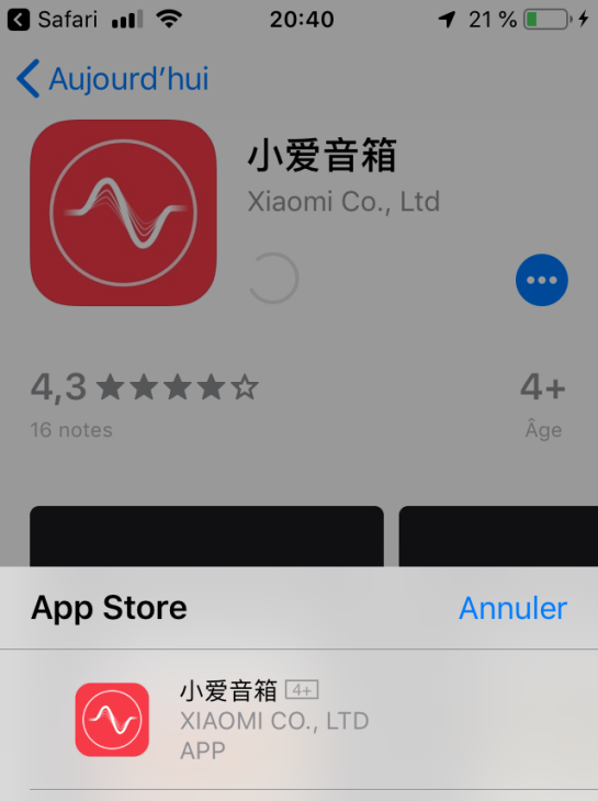 app mobile enceinte vocale xiaomi Véronique Duong