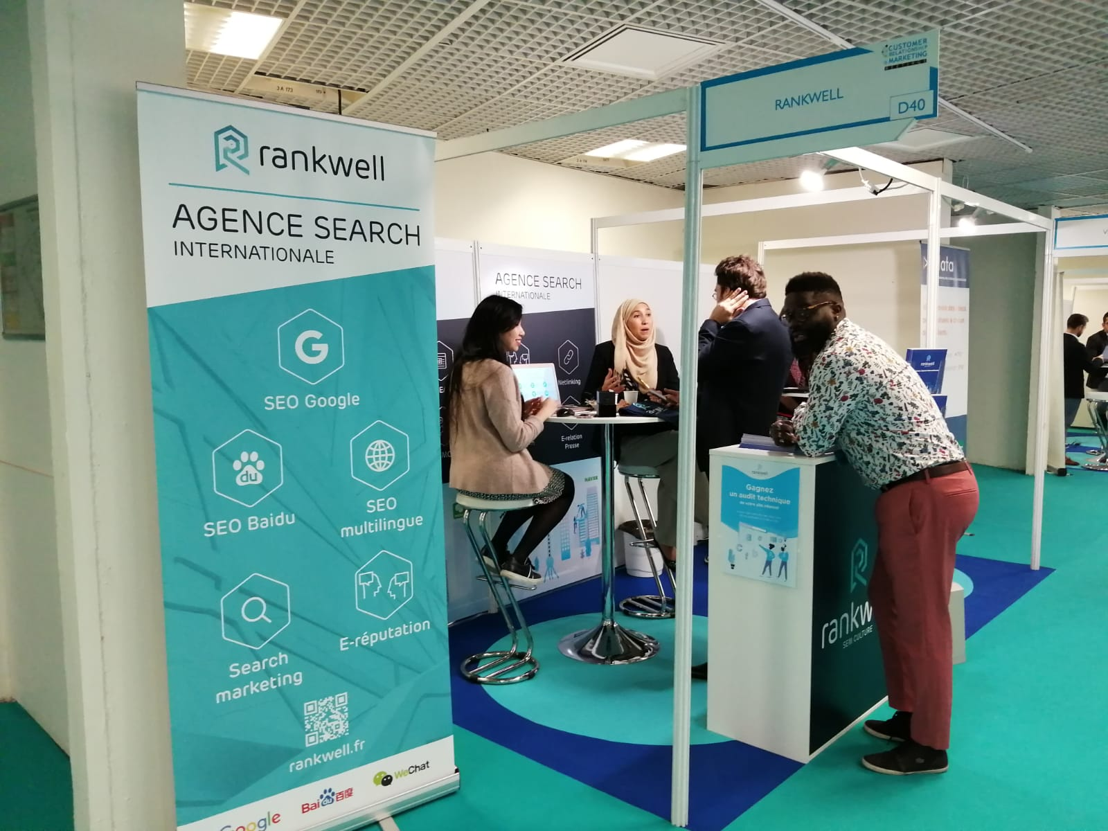 RANKWELL au salon CRM Meetings à Cannes en 2019